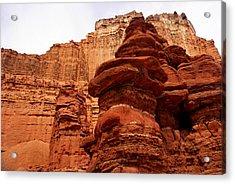 Near Moab 3 Acrylic Print by Marty Koch