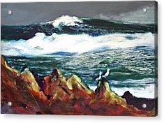 Near Pacific Grove Acrylic Print