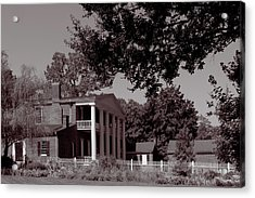 Acrylic Print featuring the photograph Near The House - The Hermitage by James L Bartlett