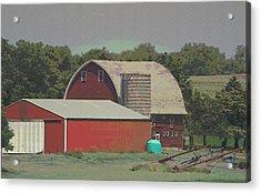 Nebraska Farm Life - The Family Farm Acrylic Print