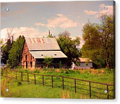Acrylic Print featuring the photograph Nebraska In The Summer Afternoon by Tyler Robbins