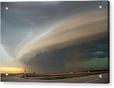 Nebraska Thunderstorm Eye Candy 026 Acrylic Print