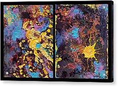 Nebula And Nova Acrylic Print by Katherine Nutt