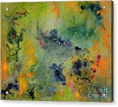 Acrylic Print featuring the painting Nebula by Karen Fleschler