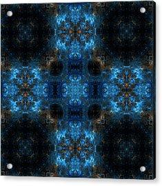Nebula Mandala 10 Acrylic Print