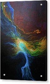 Nebula Six Acrylic Print by Emily Magone