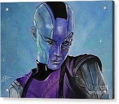 Nebula Acrylic Print by Tom Carlton