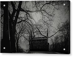Acrylic Print featuring the digital art Necropolis Nine by Chris Lord