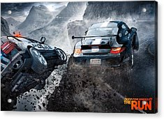 Need For Speed The Run Acrylic Print