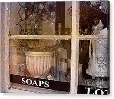 Need Soaps Acrylic Print by Susanne Van Hulst