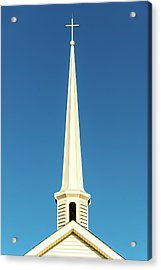 Acrylic Print featuring the photograph Needle-shaped Steeple by Onyonet  Photo Studios