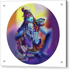Neelakanth Shiva  Acrylic Print