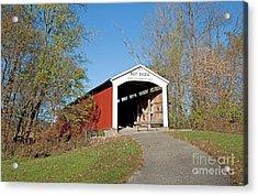 Neet Covered Bridge, Indiana Acrylic Print