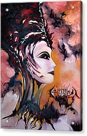 Nefertiti - Act With Modern Elegance Acrylic Print