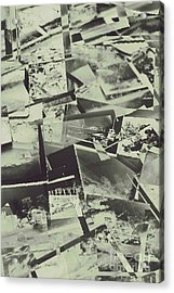 Negative Film Photo Background Acrylic Print by Jorgo Photography - Wall Art Gallery