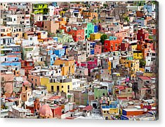 Neighbourhood. Guanajuato Mexico. Acrylic Print