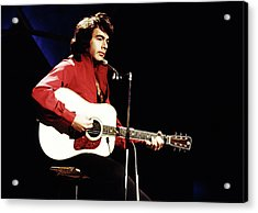 Acrylic Print featuring the photograph Neil Diamond 1971 by Chris Walter