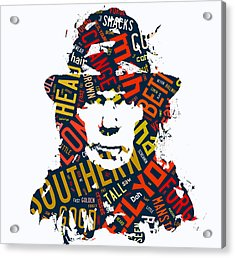 Neil Young Southern Man Acrylic Print