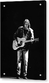 Neil Young Acrylic Print