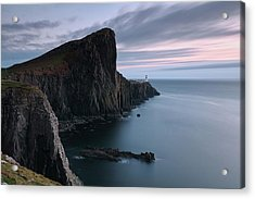 Acrylic Print featuring the photograph Neist Point Sunset - Isle Of Skye by Grant Glendinning