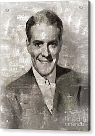 Nelson Eddy, Vintage Actor Acrylic Print by Mary Bassett