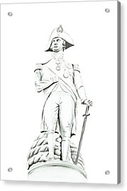 Acrylic Print featuring the painting Nelson by Elizabeth Lock