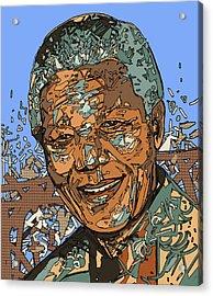 Nelson Mandela 2 Acrylic Print