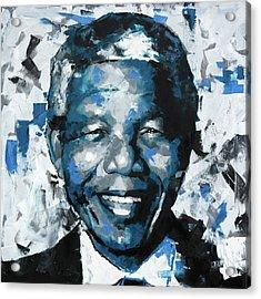 Nelson Mandela II Acrylic Print