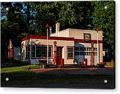 Nelsonville Phillips 66 Acrylic Print by Trey Foerster