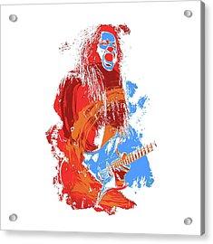 Neoclassical Guitarist Acrylic Print by Andrea Mazzocchetti