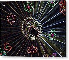 Neon Balloon Acrylic Print