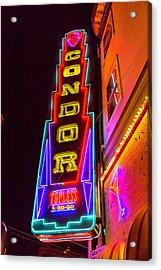 Neon Condor San Francisco Acrylic Print