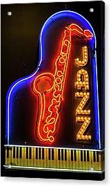 Neon Jazz Acrylic Print