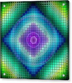 Neon P Acrylic Print