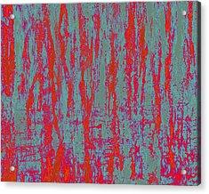Neon Rainbow V Acrylic Print by Jane Biven