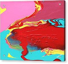 Neon Tide Acrylic Print
