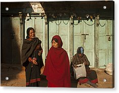 Nepalese Afternoon Acrylic Print