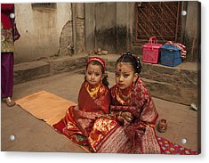 Nepalese Tradition Acrylic Print