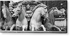 Acrylic Print featuring the photograph Neptune's Horses by Richard Goodrich
