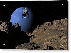 Neptunes Moon Proteus Acrylic Print