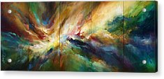 'neptunes Pass' Acrylic Print by Michael Lang