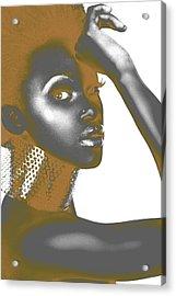 Nesha Acrylic Print by Naxart Studio