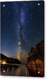 Neskowin Milky Way Acrylic Print