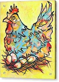 Nesting Acrylic Print