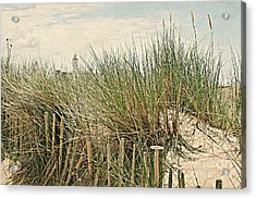 Netherlands - Dunes And Lighthouse Acrylic Print