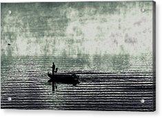 Acrylic Print featuring the photograph Netherworld Lake by Steven Huszar