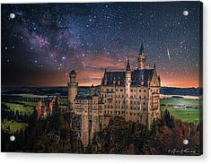 Neuschwanstein Castle Acrylic Print by Brent Shavnore