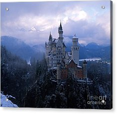 Neuschwanstein Acrylic Print by Don Ellis