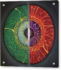 Neutral Vision Acrylic Print by Donovan Hubbard