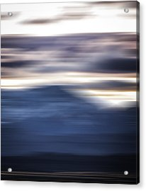 Nevada Blur #1 Acrylic Print by Rob Worx